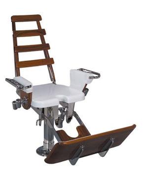 "Picture of Pompanette INT1500 Large Marlin / Tuna with fiberglass seatboard - 23"" x 23"""