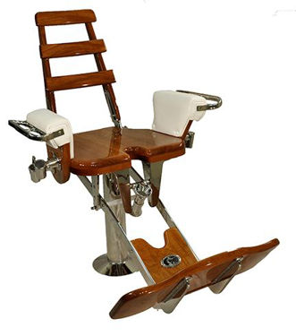 Picture of Pompanette INT2000 Small Marlin/Tuna with Teak seat board