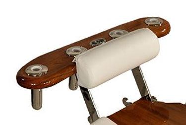 Picture of Pompanette INT5000 Teak Reverse Rocket Launcher - Chair mount