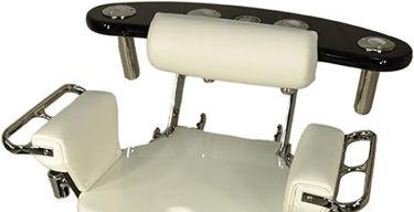 Picture of Pompanette INT4850 Tournament Series Rocket Launcher, chair mount black
