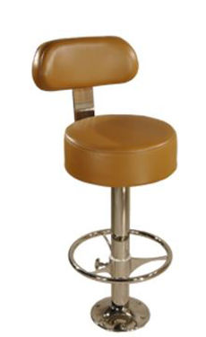 Picture of Pompanette T7023-BACK278 PYS T-Back Bar Stool