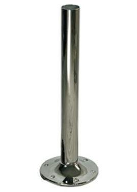 "Picture of Pompanette T2260B00 Stainless Steel 6"" Regular Mount Pedestal"