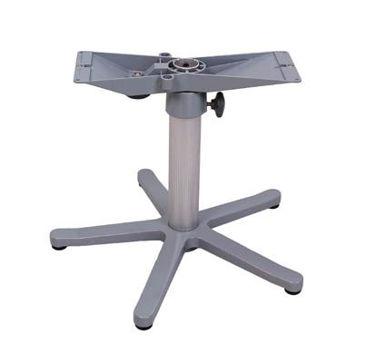 Picture of Pompanette NB500041 Zwaardis Table Mount, Adjustable Pedestal, 5-Star portable base