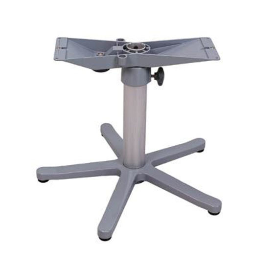 Picture of Pompanette NB500041 Zwaardis Table Mount, Adjustable Pedestal, 5-Star portable base