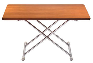 Picture of Pompanette FLA4ALUMTBL Astron Folding Table-Teak