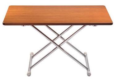 Picture of Pompanette FLA4ALUMTBL Astron Folding Table-White Formica