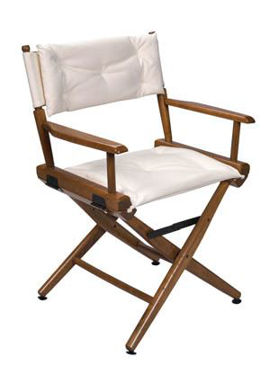 Picture of Pompanette Telescope Standard Height Directors Chairs with Padded Sling