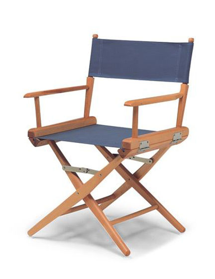 Picture of Pompanette Telescope Standard Height Directors Chairs with Sling