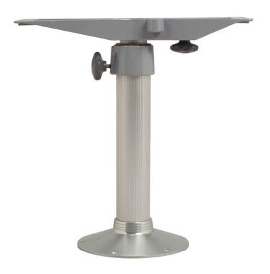 Picture of Pompanette ZPED Zwaardis Table Mount, Adjustable Pedestal, Round Base