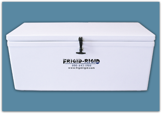Picture of Frigid Rigid Ice Chest 40 qt - 18x15x21