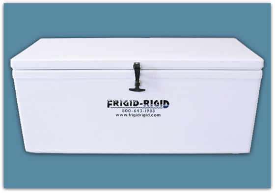 Picture of Frigid Rigid Ice Chest 85 qt - 18x15x36