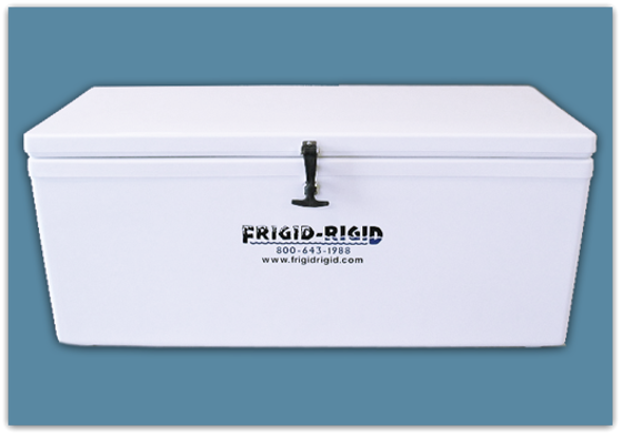 Picture of Frigid Rigid Ice Chest 145 qt - 18x18x48