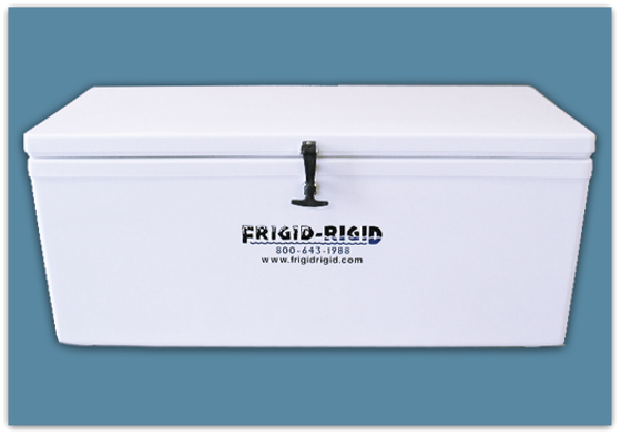 Picture of Frigid Rigid Ice Chest 300 qt - 21x21x66