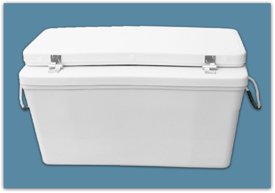 Picture of 3″ Set Back Ice Chest 65 qt - 15x15x36