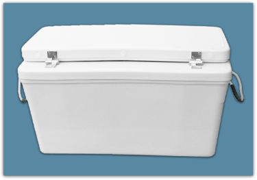 Picture of 3″ Set Back Ice Chest 60 qt - 15x18x30
