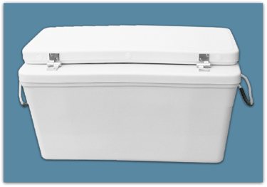 Picture of 3″ Set Back Ice Chest 81 qt - 18x18x30