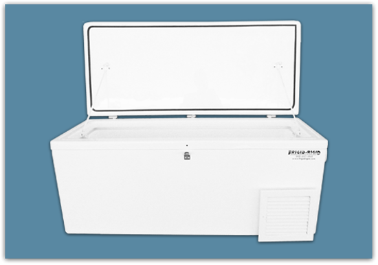Picture of Freezer of 2.0 Cubic feet, 82 lbs, - 21x18x30″ (w/3″ setback)