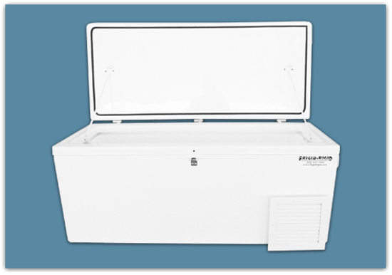 Picture of Freezer of 3.2 Cubic feet, 110 lbs, - 24x18x36″ (w/3″ setback)