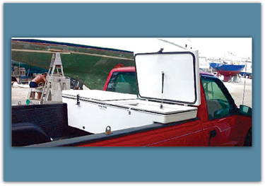 Picture of Pick up Truck Ice Chests/Storage Box Dual Compartment